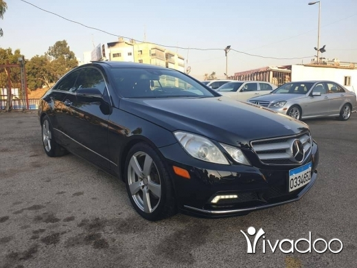 Mercedes-Benz in Beirut City -  2010 Mercedes E350 coupe
