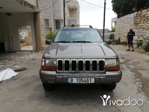 Jeep in Beirut City - Grand cherokee 1998