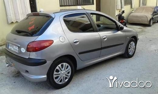 Peugeot in Tripoli - بيجو 206 موديل ٢٠٠٥