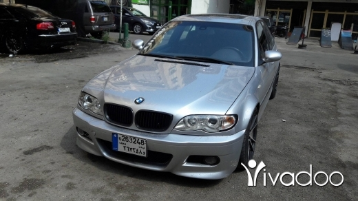 BMW in Tripoli - BMW 325i E46 M3