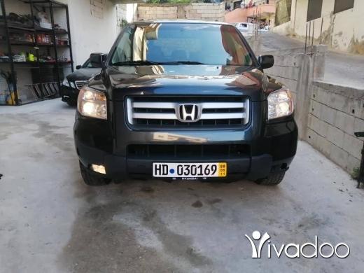 Honda in Tripoli - جيب هونداة 2006