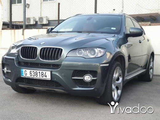 BMW in Beirut City - BMW X6 European specs Fully loaded Sport pack