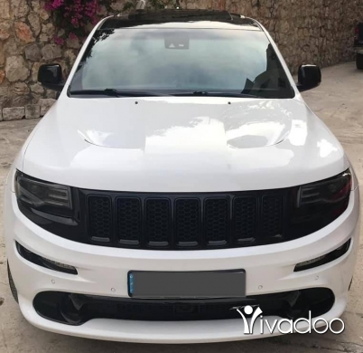 Jeep in Beirut City - Grand cherokee SRT mod 2015.امكانية الفحص بالكامل.