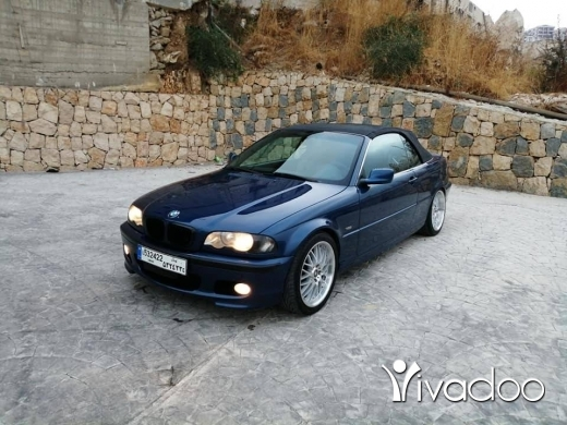 BMW in Port of Beirut - E46 330