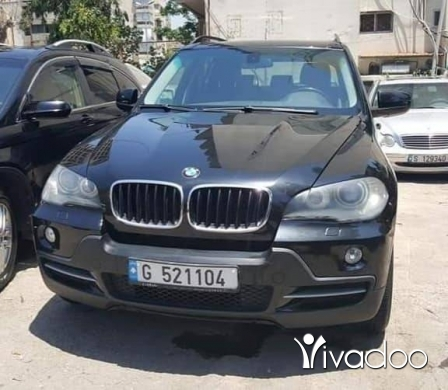 BMW in Beirut City - x5 2007 black 5eri2 ktir ndif
