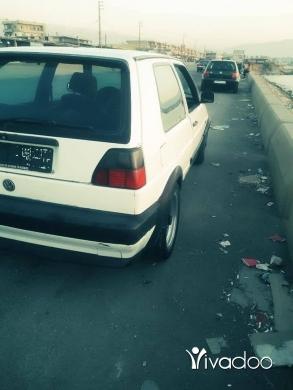 Volkswagen in Tripoli - غولف ٨٨ انقاض موتار بيساس نار بدها ترتيب بس دكيش بيع