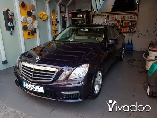 Mercedes-Benz in Beirut City - Mercedes E350 model 2011