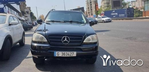 Mercedes-Benz in Beirut City - Mercedes ml modell 2000 mfawal alb aswad