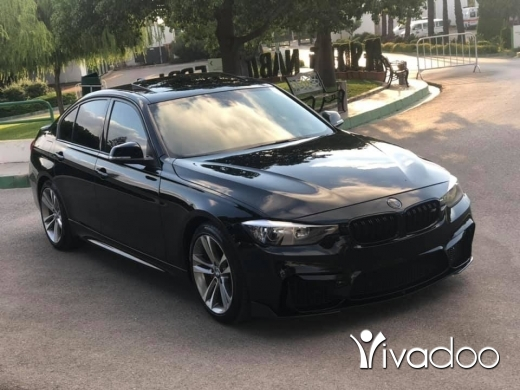 BMW in Sarafand - BMW 328 2013 Look M Black/black with Red line