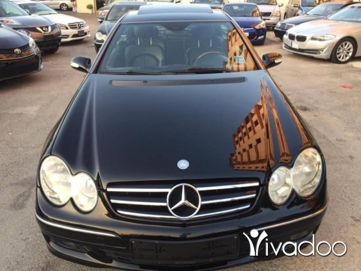 Mercedes-Benz in Majd Laya - CLK 350 mod 2007 super kayen