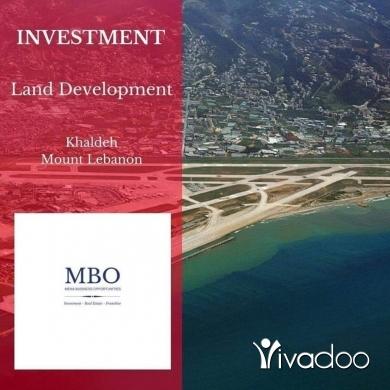 Land in Khalde - Land for sale in Khaldeh