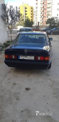 Mercedes-Benz in Tripoli - مرسيدس بنز 190