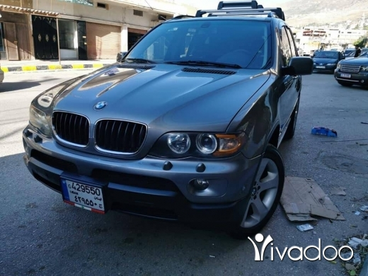 BMW in Deir Ammar - for sale bmw x5 2004