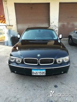 BMW in Beirut City - 745Li 2003سيارة بيت للجادين فقط