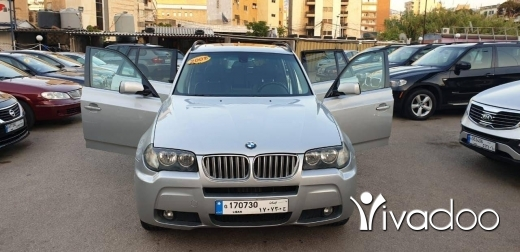BMW in Beirut City - Bmw x3 2007 f o sport package 4wd like new