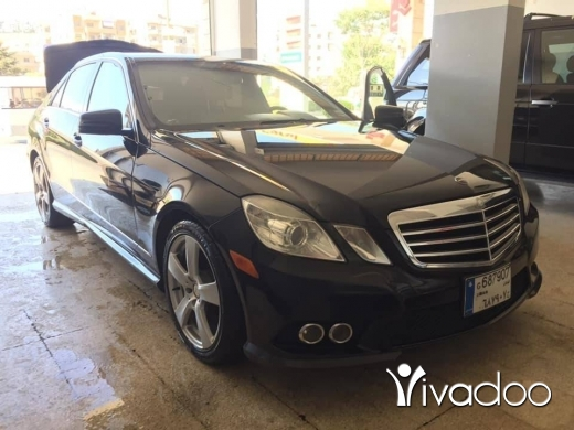 Mercedes-Benz in Port of Beirut - E 350 2010 mercedes for sell