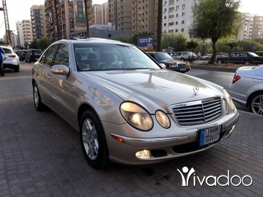 Mercedes-Benz in Port of Beirut - مرسيدس ايه 320