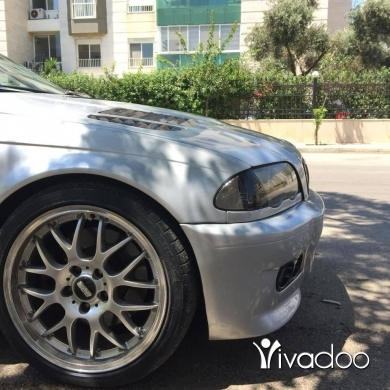 BMW in Tripoli - Newboy E46 2001