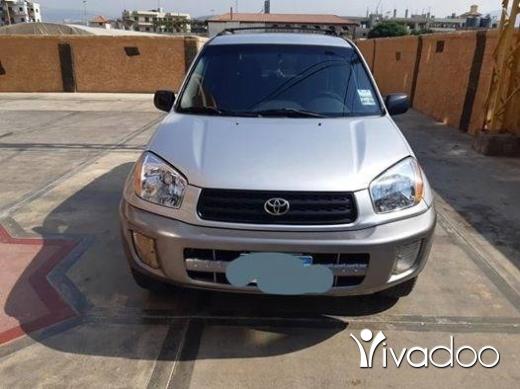 Toyota in Tripoli - للبيع جيب تويوتا رافور موديل 2002 دفتر 2019