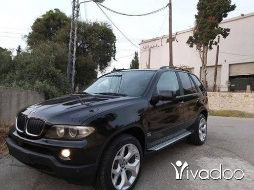 BMW in Jbeil - 2005 bmw X5 black 3.0i Sport package