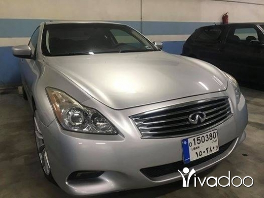 Infiniti in Beirut City - infiniti g37s full technologhy
