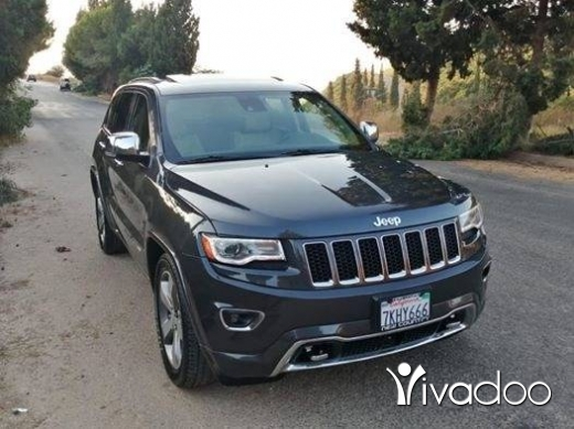 Jeep in Ras-Meska - Grand cherokee overland 2014 low mileage no acciden not airbag depolyed pris 26000$ telphon 03101630