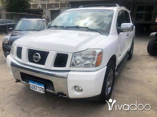 Nissan in Dbayeh - Nissan armada 2006 white on havann V8 7 seats super clean full option