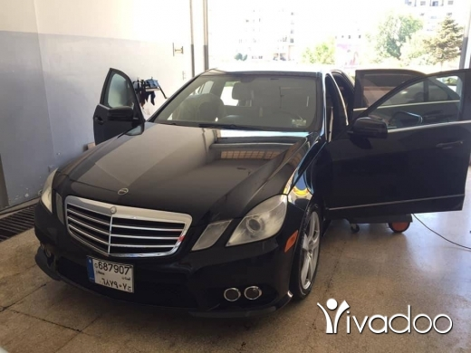 Mercedes-Benz in Beirut City - E 350 2010 clean carfax for sael