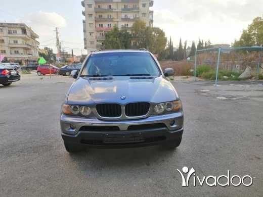 BMW in Beirut City - For sale X5 2004 bmw