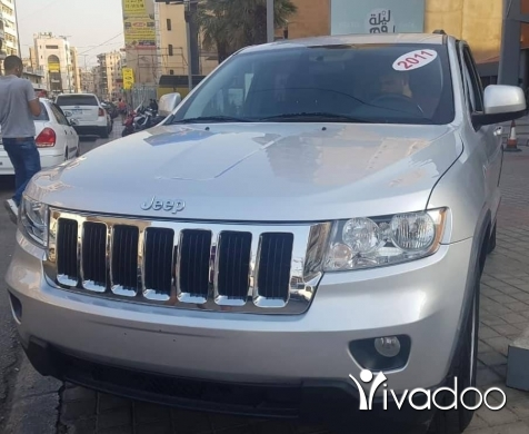 Jeep in Beirut City - New grand cherokee 2011