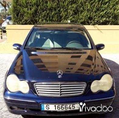 Mercedes-Benz in Beirut City - Mercedes c240 2002 full option