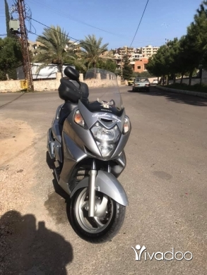 Baotian in Port of Beirut - Silverwing 600cc for selll