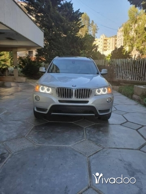 BMW in Beirut City - bmw x3 2014 silver for sale