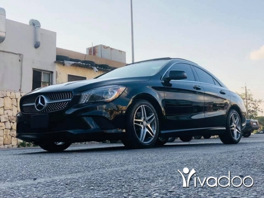 Mercedes-Benz in Beirut City - mercedes cla 2014 full options low milage for sale color black