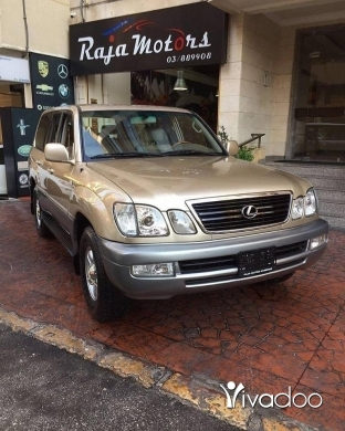 Lexus in Beirut City - Lexus LX470 2002 V8 SILVER FOR SALE
