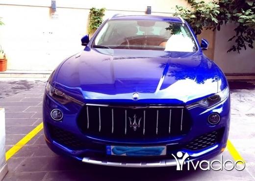 Maserati in Port of Beirut - 2017 Maserati Levante