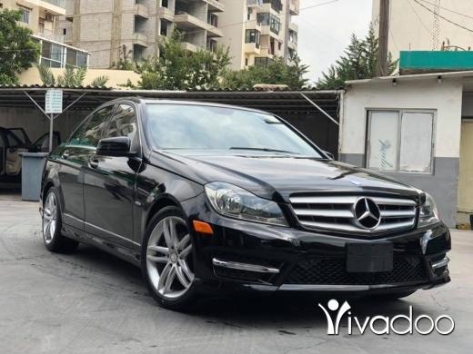 Mercedes-Benz in Port of Beirut - Mercedes C250