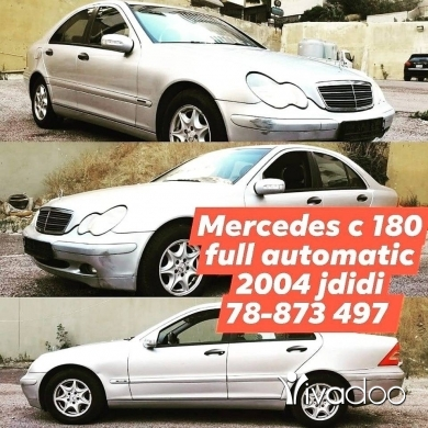 Mercedes-Benz in Port of Beirut - Mercedes c 180  for sell