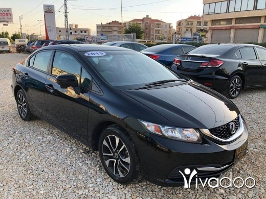 Honda in Zahleh - Honda civic ex 2015