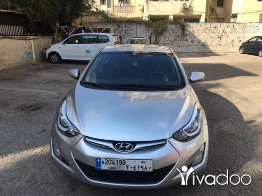Hyundai in Beirut City - Hyundai elantra 2016 for sale