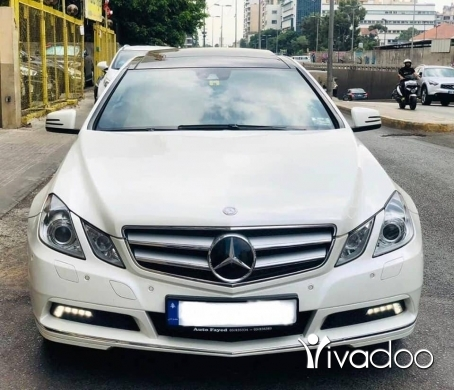 Mercedes-Benz in Beirut City - for sale Mercedes e350 look amg coupee model 2011,