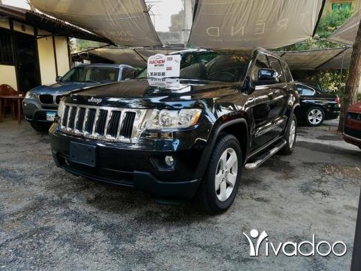 Jeep in Beirut City - Gr Cherokee 2012 Laredo black V6 3.6L