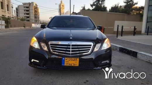 Mercedes-Benz in Beirut City - For sale mercedes E350 modell 2011 black