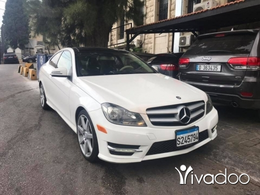 Mercedes-Benz in Beirut City - Mercedes C250 Coupé model 2013 Clean Carfax