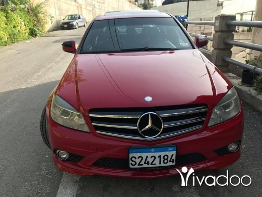 Mercedes-Benz in Beirut City - mercedes c300 2008 look Amg for sale