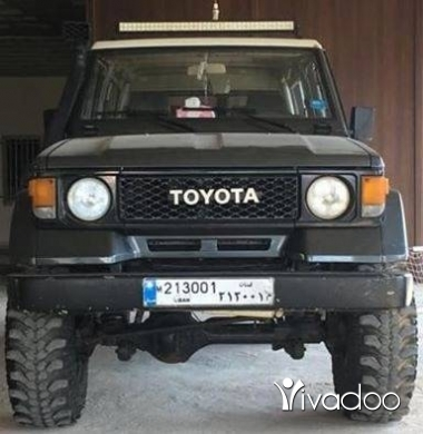 Toyota in Hasbiah - Toyota land cruiser mod [hidden information]klm.4cylinder.بخاخ.٧٠٤٥٥٤١٤
