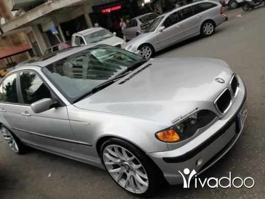 BMW in Tripoli - new boy 316