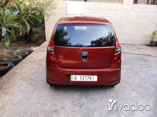 Hyundai in Nabatyeh - هيونداي i10 موديل ٢٠١٢