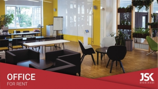 Office Space in Achrafieh - Deluxe Office For Rent In Sin EL Fil Prime Location-l05046
