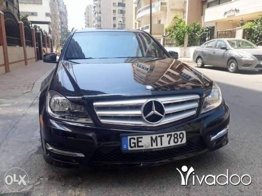 Mercedes-Benz in Tripoli - Mercedes c 300 2013